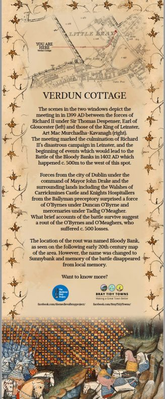 Information on the Battle of Bloody Banks in 1402 AD   The Medieval Bray Project and Bray Tidy Towns