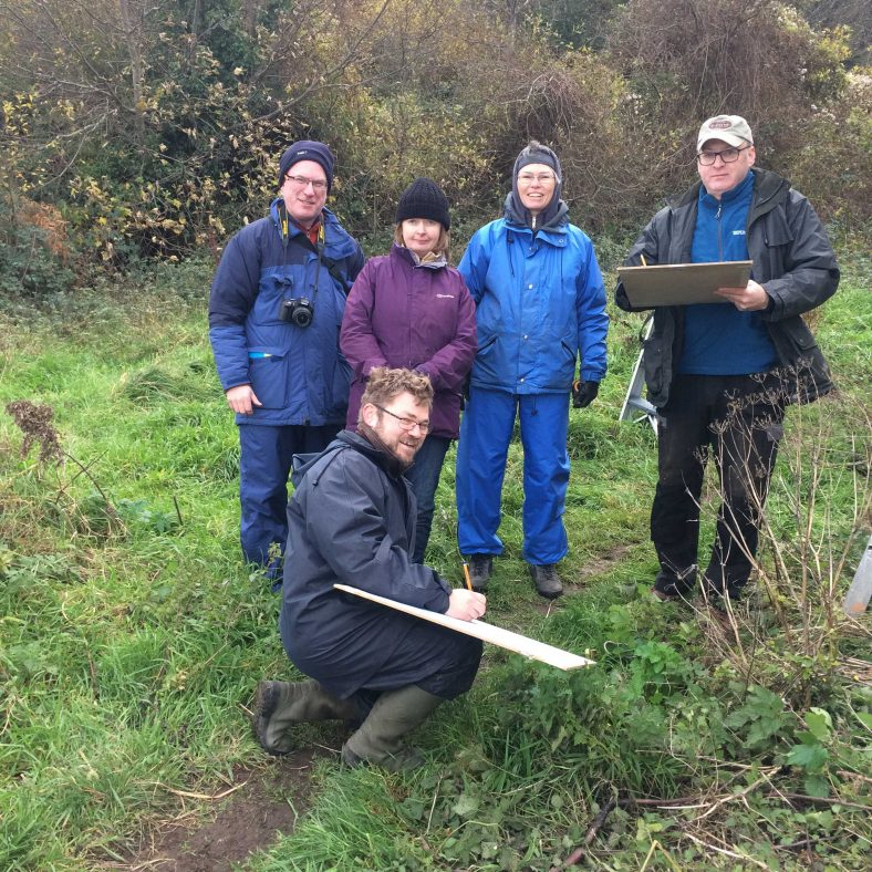 Survey Team from Medieval Bray Project at Raheen a Cluig | The Medieval Bray Project