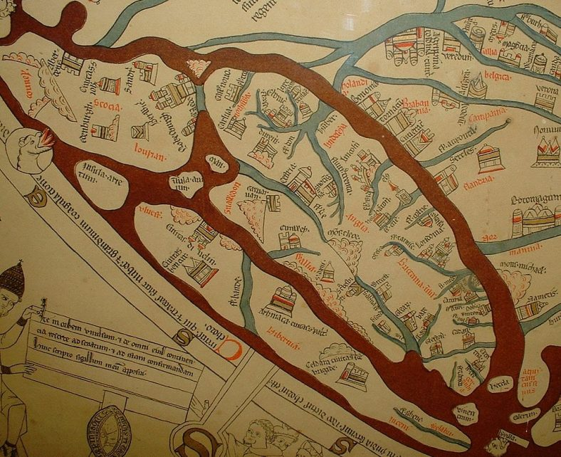 Hereford Mappa Mundi | Displayed at Hereford Cathedral, England c13th century AD