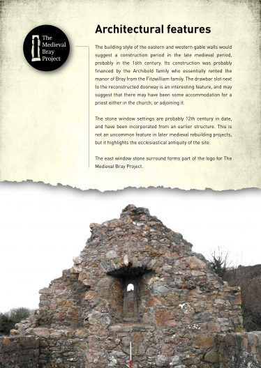 Information Board No. 3 used at excavation site and at exhibitions | The Medieval Bray Project
