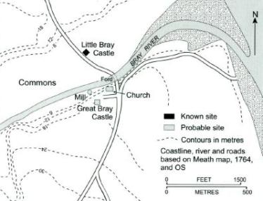 Map from Irish Historic Tows Atlas No. 9 Bray | K.M. Davies