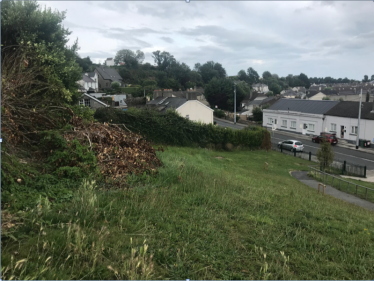 Contemporary site of Battle of Bloodybank at Rathmore Terrace, Upper Dargle Road, Bray.  | The Medieval Bray Project