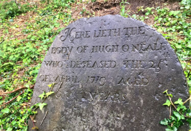 One of the oldest gravestones in Old Conna/Connaught | The Medieval Bray Project