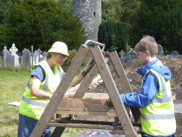 Sieving at Glendalough | Glendalough Heritage Forum