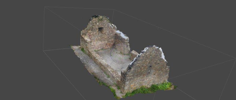 Second Image of 3D model of Raheenacluig