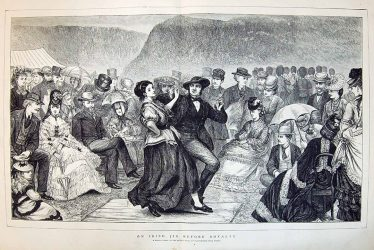 Royal Visit to Glendalough dated 1871 | Courtesy of P. Reid