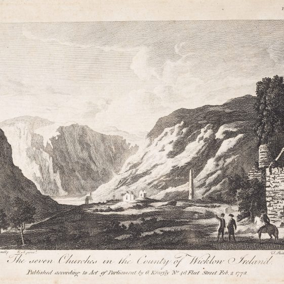 The Seven Churches by Thomas Ryder | Courtesy of the National Library of Ireland