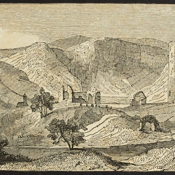 Glendalough by Benjamin Clayton | Courtesy of the National Library of Ireland