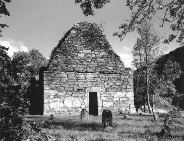 St Mary's Church from the west | Courtesy of Con Manning, Archaeology Ireland and Wordwell Publishing