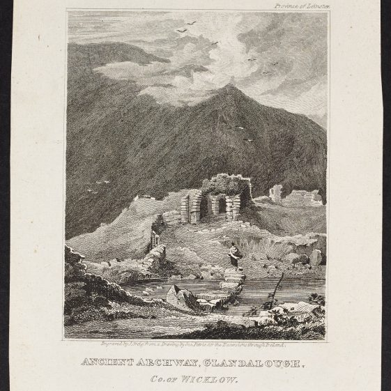 Ancient Archway Glandalough by John Greg | Courtesy of the National Library of Ireland