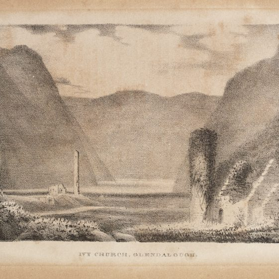 Ivy Church Glendalough | Courtesy of the National Library of Ireland