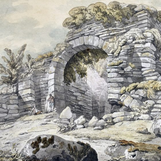 Gateway by Francis Wheatley | Courtesy of the National Library of Ireland