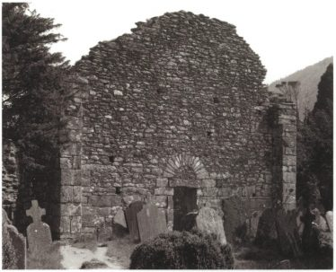 The west face of the Cathedral | Courtesy of Con Manning, Archaeology Ireland and Wordwell Publishing