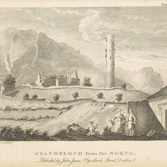 Glandeloch from the North by William Beauford | Courtesy of the National Library of Ireland