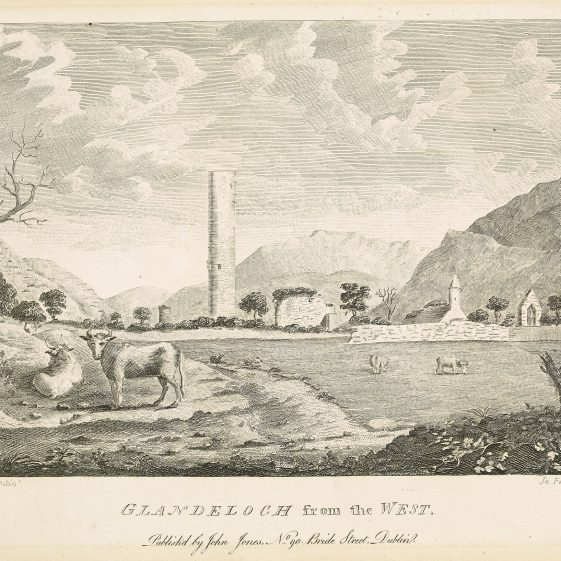 Glandeloch from the West by M. Beauford | Courtesy of the National Library of Ireland