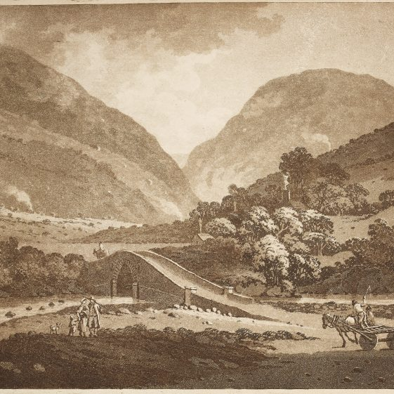 Entrance to Glendalough by Jonathan Fisher | Courtesy of the National Library of Ireland