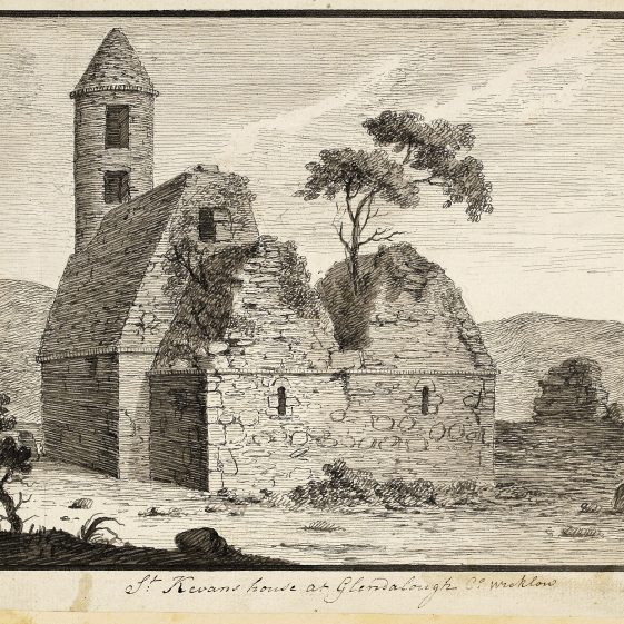 St. Kevin's House by Angelo Maria Bigari | Courtesy of the National Library of Ireland