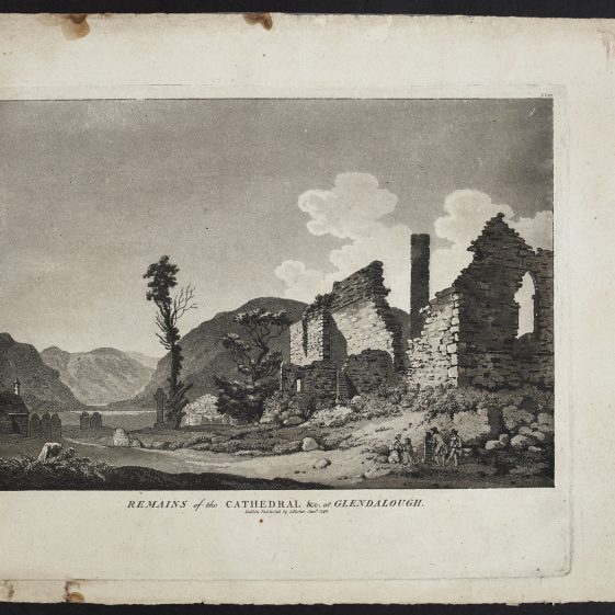 Remains of the Cathedral by Jonathan Fisher | Courtesy of the National Library of Ireland