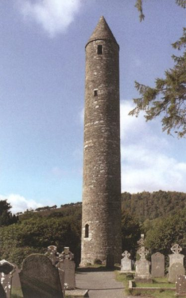 The Round Tower | Courtesy of Con Manning, Archaeology Ireland and Wordwell Publishing