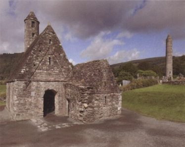 St Kevin's Church today | Courtesy of Con Manning, Archaeology Ireland and Wordwell Publishing