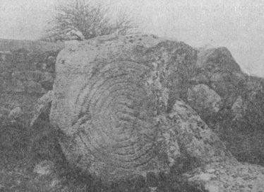 The Hollywood Stone in situ | Courtesy of the JRSI 41(1911, p. 184-5)