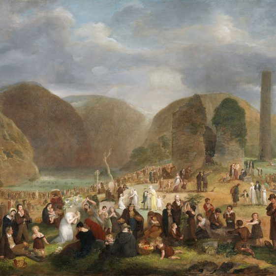 Glendalough by Peacocke | Courtesy of the National Gallery of Ireland