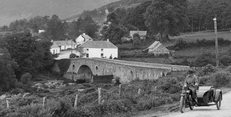 Old bridge into Laragh Village