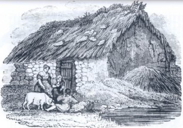 A pre-Famine Hovel | Courtesy of Clare Library Service