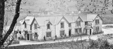 Royal Hotel with garden features behind | Courtesy of the National Library of Ireland