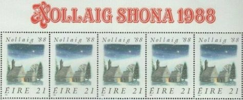 1988 - Nollaig '88 Sheet Set