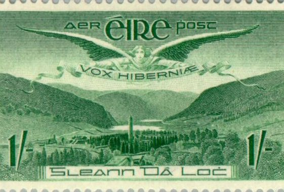 Glendalough on Stamps