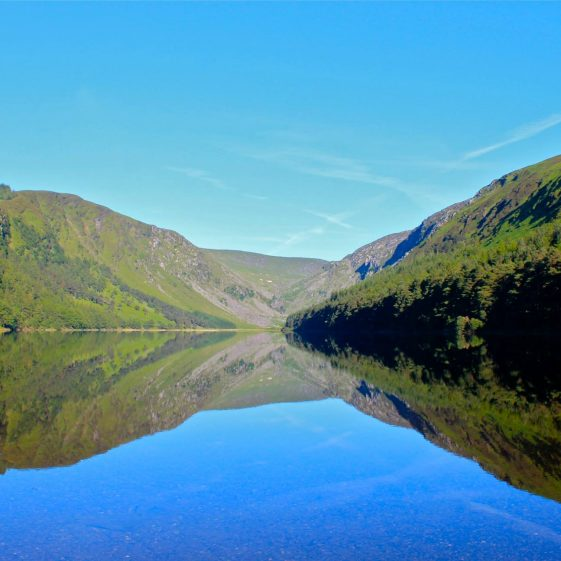 The Glendalough PhotoPost | Courtesy of Frank Corry and the NPWS