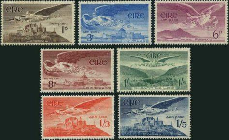 Vox Hiberniae Stamp Set