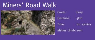 Miner's Road Walk | Courtesy of the NPWS