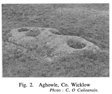 Rock-Basins, or 'Bullauns', at Glendalough and Elsewhere (published in 1959) | Courtesy of the RSAI
