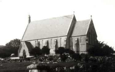 St. Kevin's Church | Courtesy of the National Library of Ireland