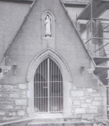 During restoration | Courtesy of Fr. Sean O'Toole