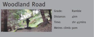 Woodland Road | Courtesy of the NPWS