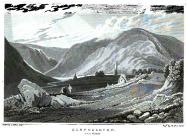 Glendalough, Co. of Wicklow | Courtesy of Google Books