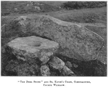 The Deer Stone and St. Kevin's Chair | Courtesy of the RSAI