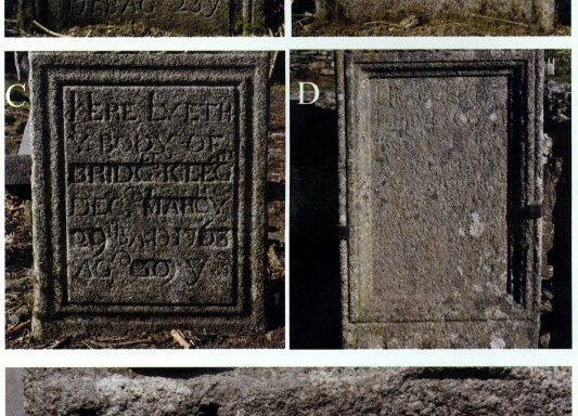 Some eighteenth-century granite headstones from Wicklow