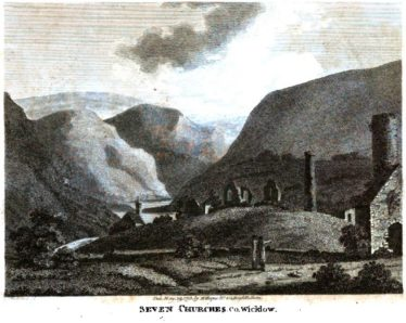 Seven Churches, Co. Wicklow by Dr. Wynne | Courtesy of Google Books