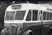 St. Kevin's Bus Service in the 1950s | Courtesy of St. Kevin's Bus Service