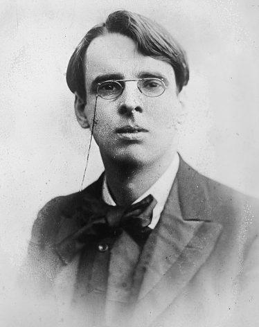 W. B. Yeats   Courtesy of Wikimedia Commons