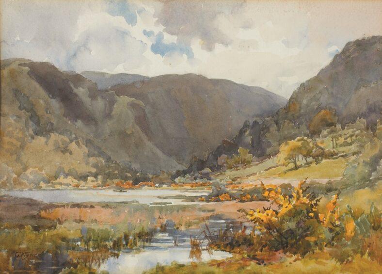 The Lower Lake, Glendalough | Courtesy of Whyte's