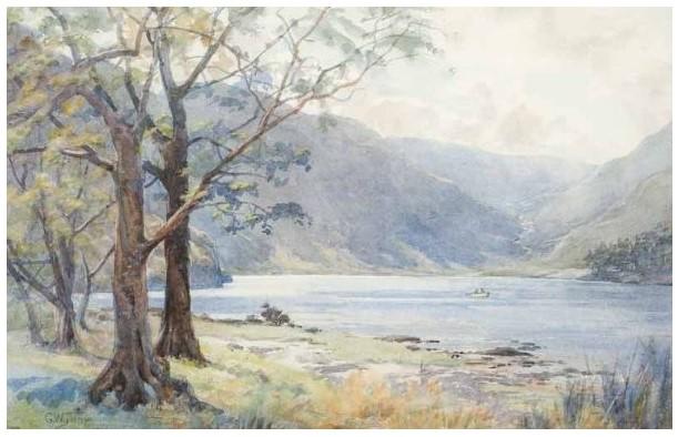 Upper Lake, Glendalough | Courtesy of Ross's