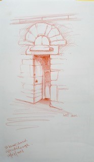 Fig. 3 - St Kevin's Church doorway, 2007